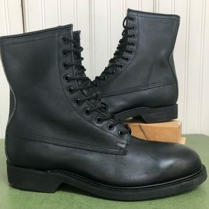 Wolverine Steel Toe Combat/Military Boots 1992
